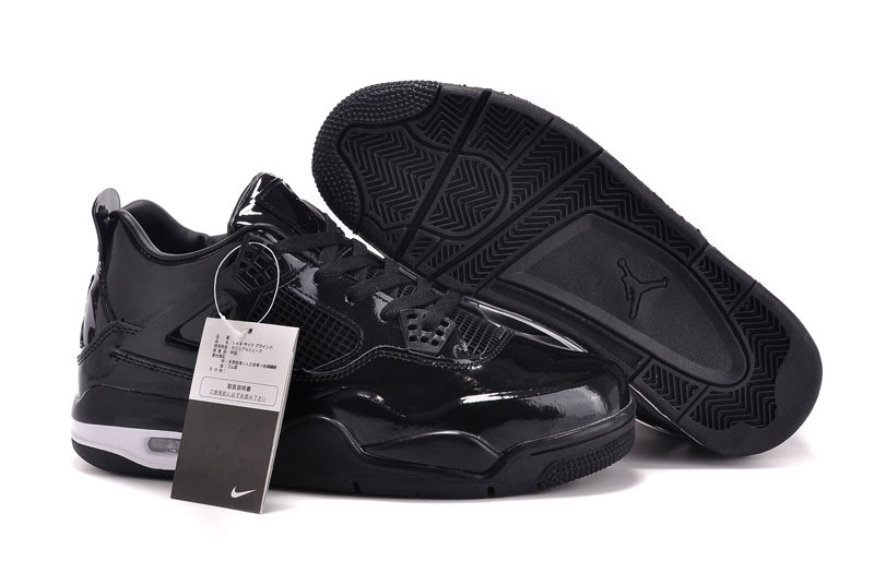 2015 Air Jordan 11Lab4 All Black Shoes