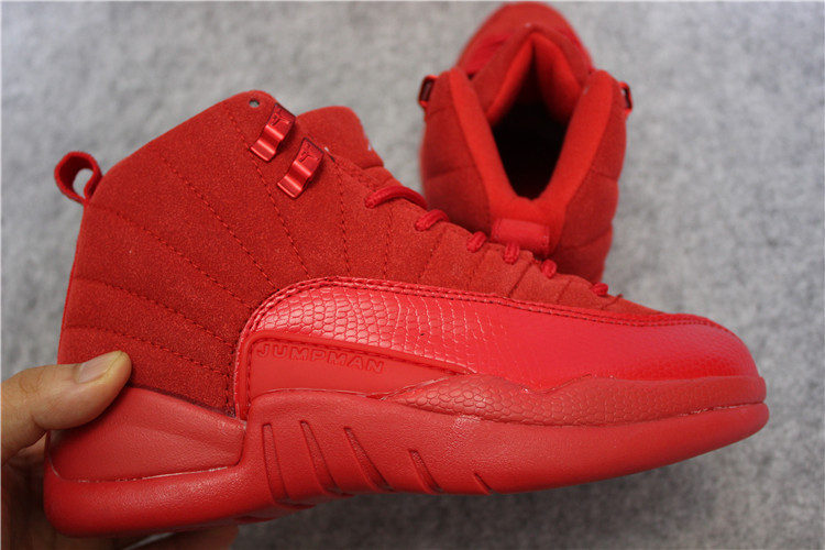 air jordan 12 all red