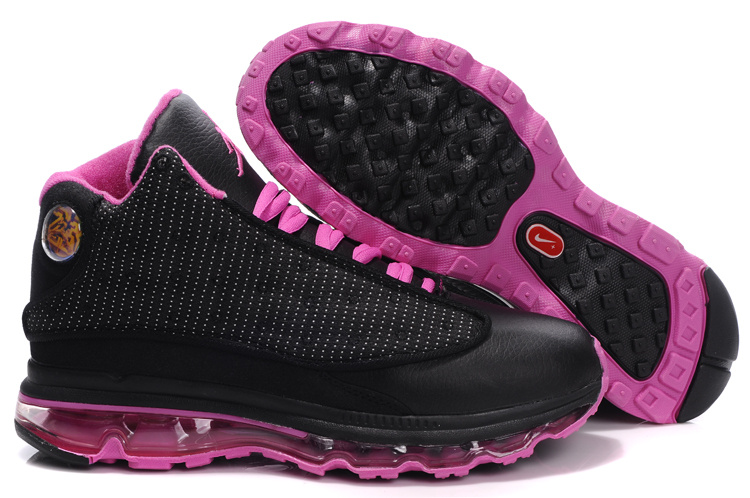 Air Jordan 13 Max Black Pink For Women