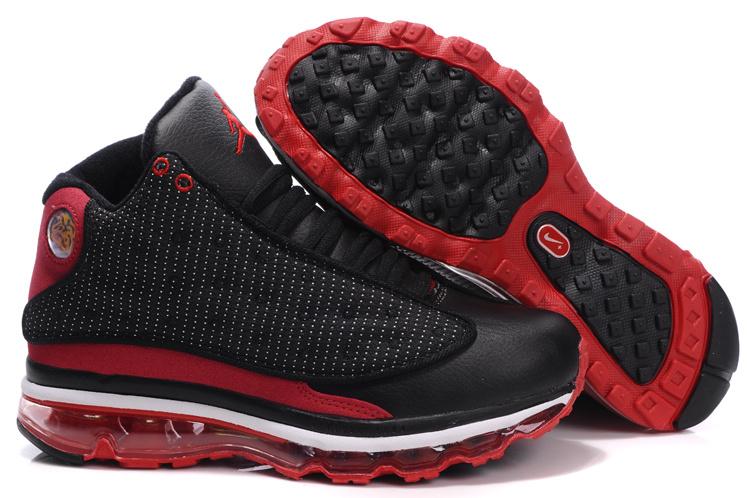 Air Jordan 13 Max Black Red White For Women