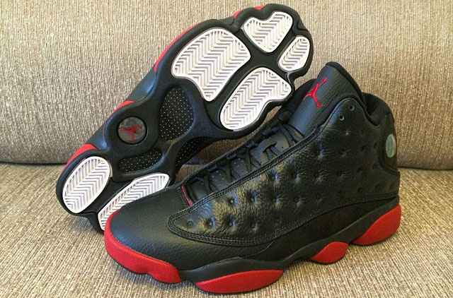 Air Jordan 13 Retro 3A Quality Black Red Shoes