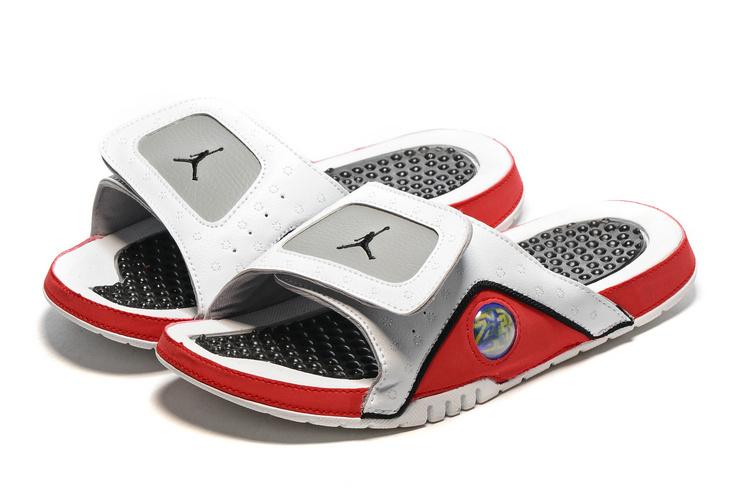 2016 Jordan 13 Retro Hydro White Grey Red