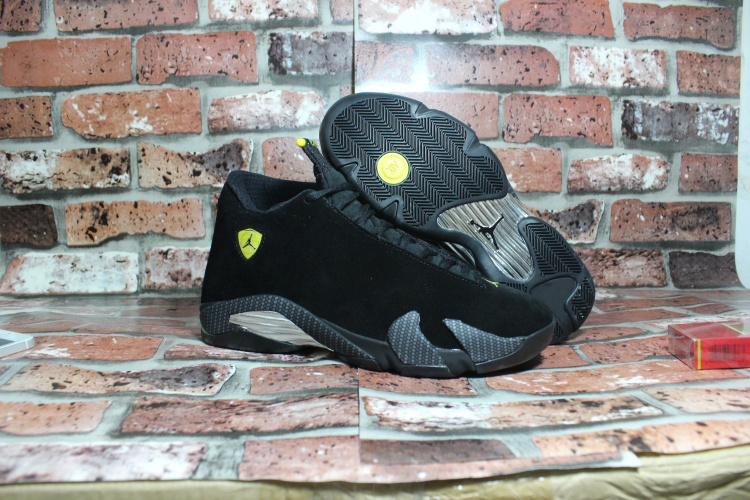 Air Jordan 14 Retro Black Ferrari Shoes