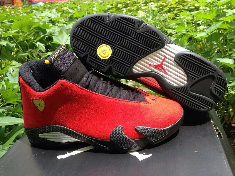 Air Jordan 14 Red Ferri Basektball Shoes