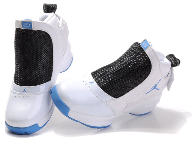 Air Jordan 19 Black White Blue For Women