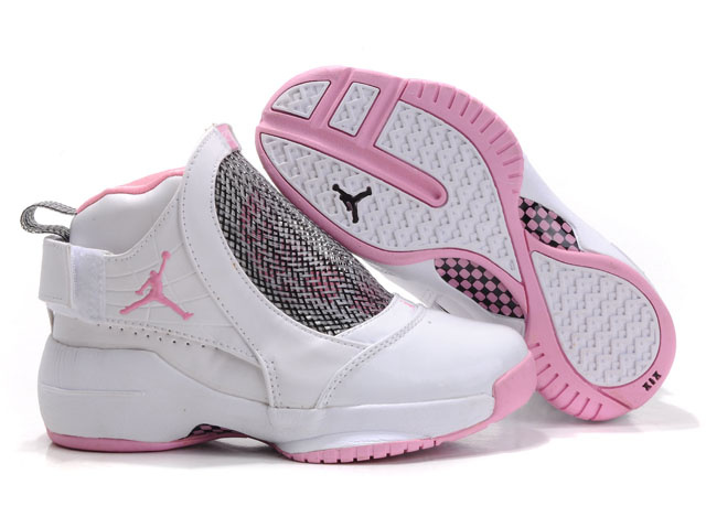 Air Jordan 19 White Pink For Women