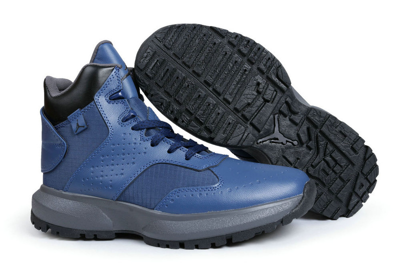 Air Jordan 23 Degrees F Blue Grey Shoes