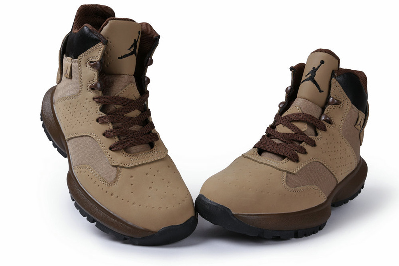 Air Jordan 23 Degrees F Brown Black Shoes