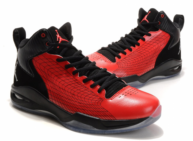 Air Jordan Fly Spiderman 23 Red Black