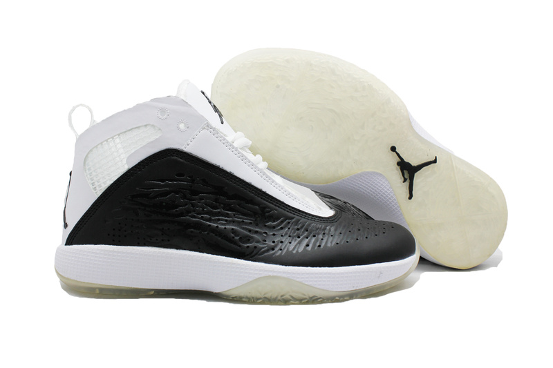 Air Jordan 26 White Black White For Women