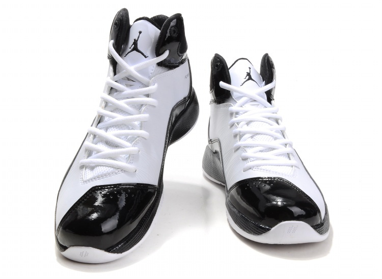 Air Jordan 26 White Black