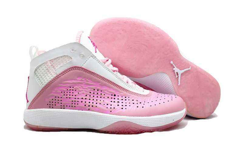 Air Jordan 26 White Pink For Women