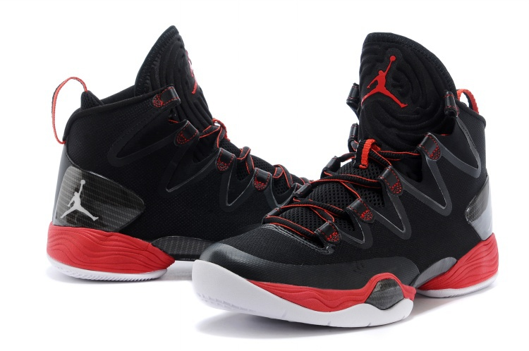 Air Jordan 28 SE Black Red White Shoes