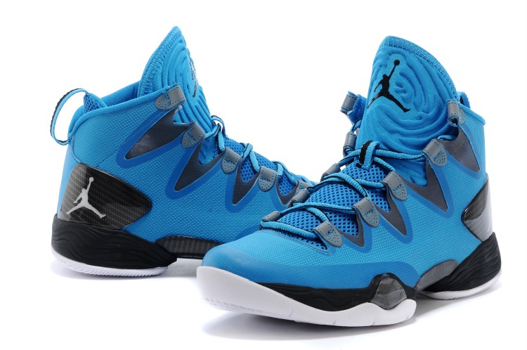 Air Jordan 28 SE Blue Black White Shoes
