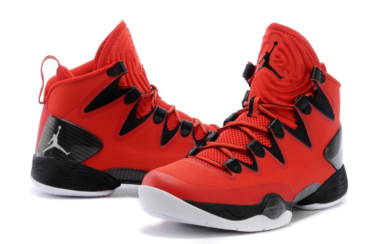 Air Jordan 28 SE Red Black White Shoes