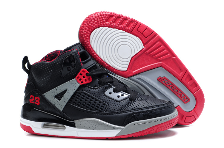 Air Jordan 3.5 Black Grey Red For Kids
