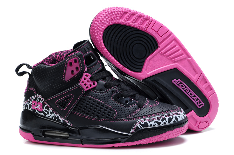 Air Jordan 3.5 Black Pink For Kids