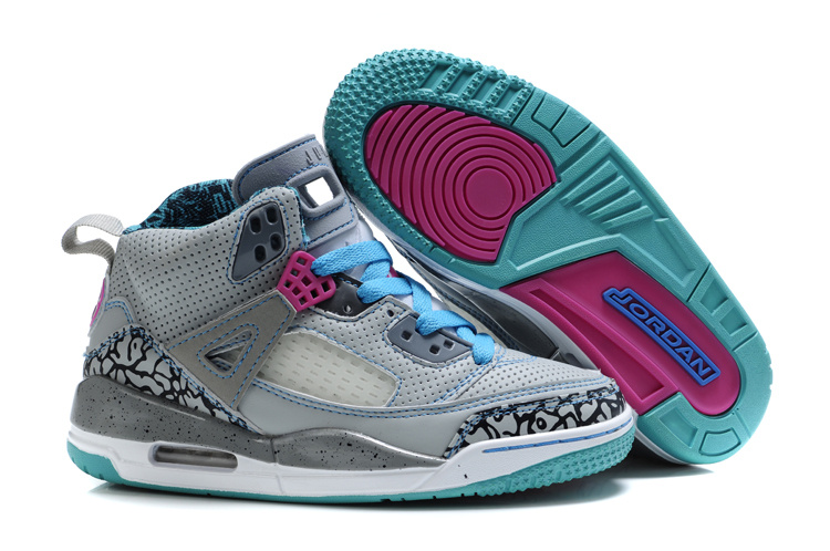 Air Jordan 3.5 Grey Light Green For Kids