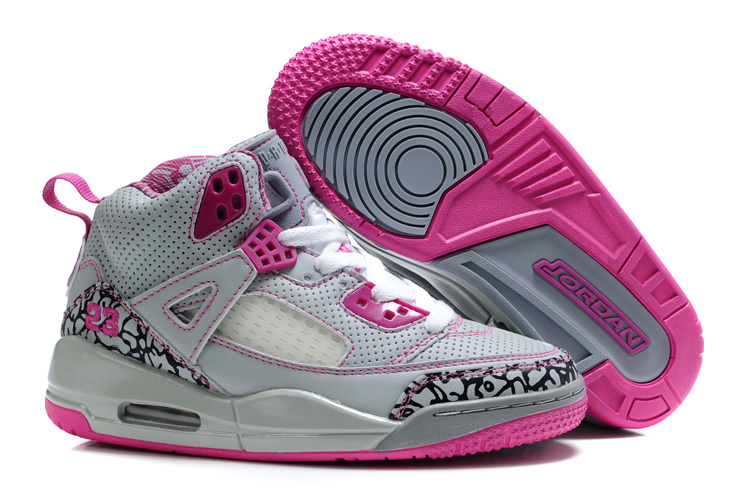 Air Jordan 3.5 Grey Pink For Kids