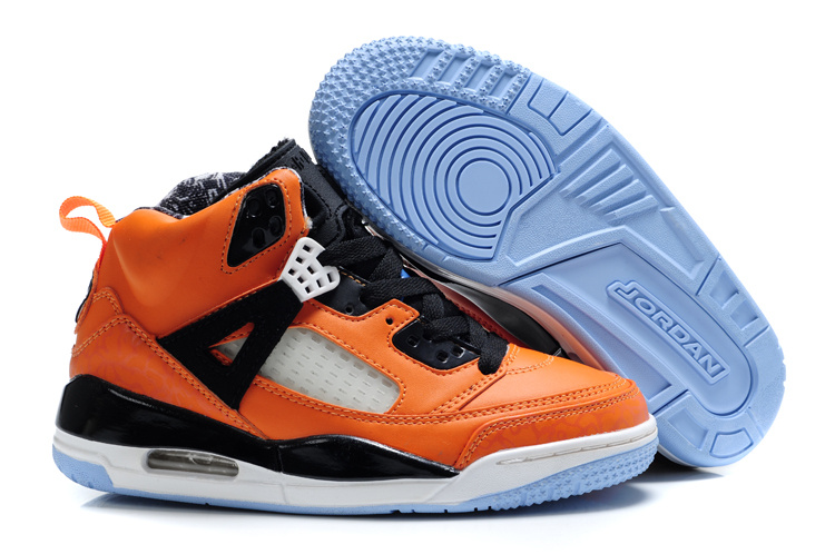 Air Jordan 3.5 Orange White For Kids