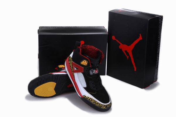 Air Jordan 3.5 Reissue Balck White Red Yellow Shoes