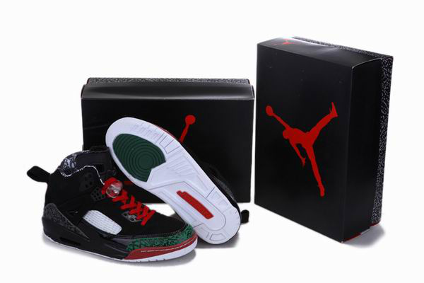 Air Jordan 3.5 Reissue Black Green Red White Shoes