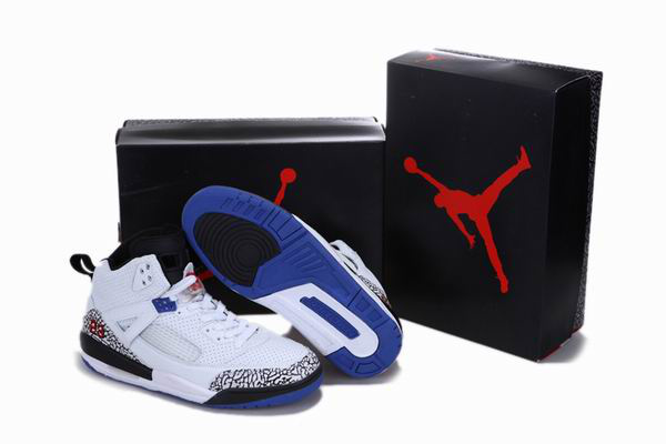 Air Jordan 3.5 Reissue White Black Blue Cement Shoes