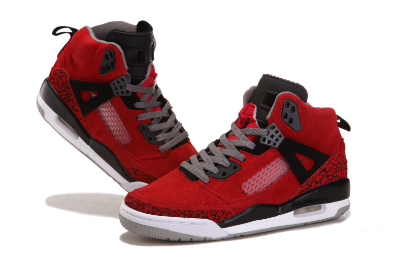 2012 Air Jordan 3.5 Suede Red Black White Shoes