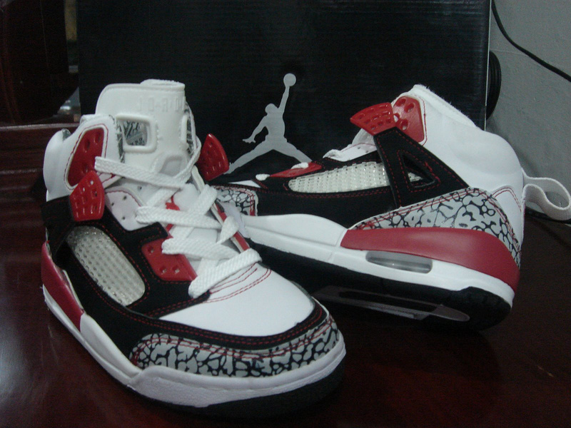 Air Jordan 3.5 White Black Red Grey Cement For Women