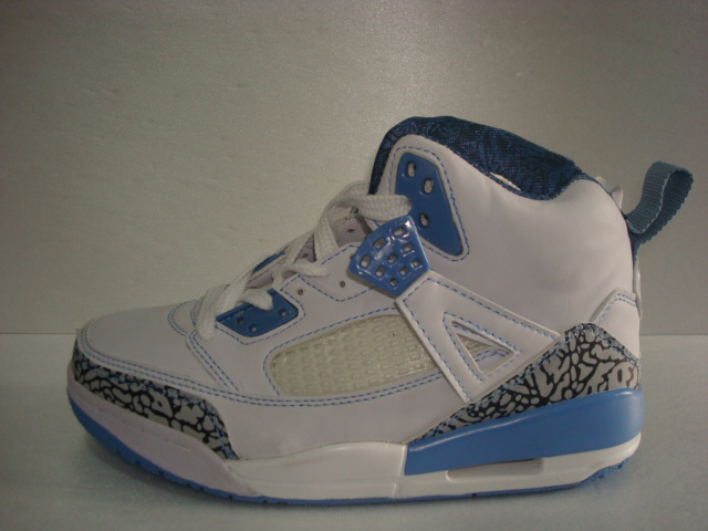 Air Jordan 3.5 White Grey Cement Light Blue For Women