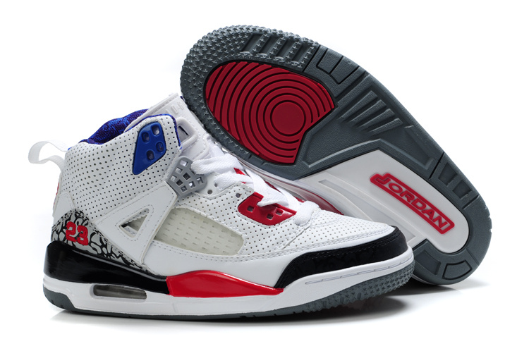 Air Jordan 3.5 White Red Black For Kids