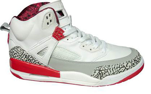 Air Jordan Shoes 3.5 White Red