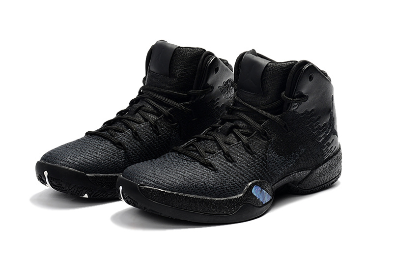 2017 Jordan 30.5 All Black Shoes