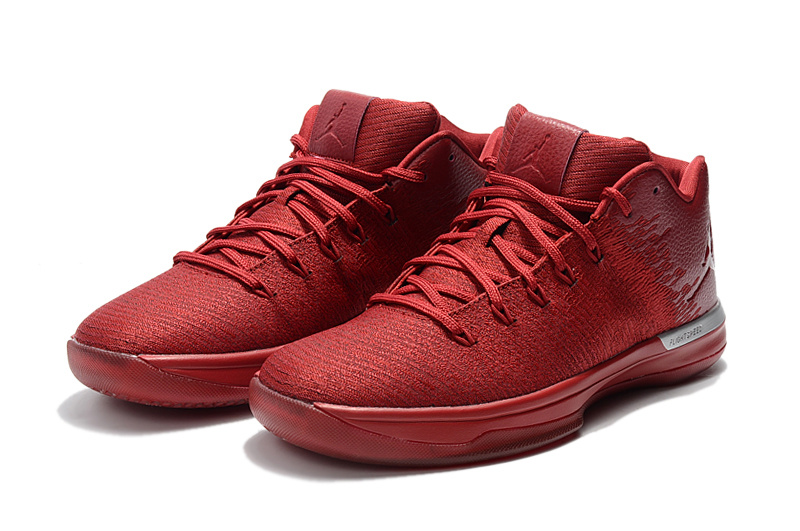2017 Jordan 31 Q54 All Red Shoes
