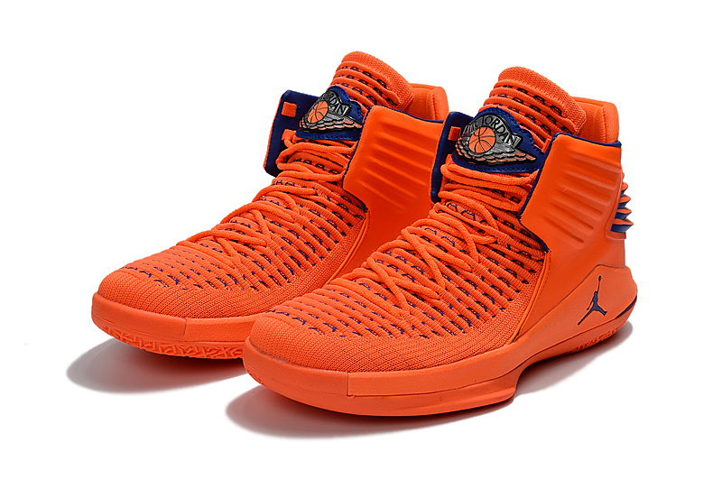 2017 Jordan 32 Orange Blue Shoes