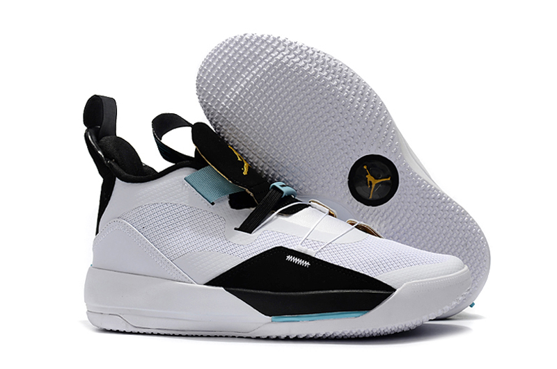 Air Jordan 33 White Jade Shoes