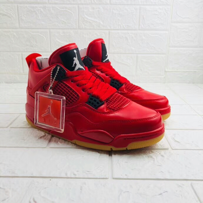 Air Jordan 4 Chinese Red Shoes