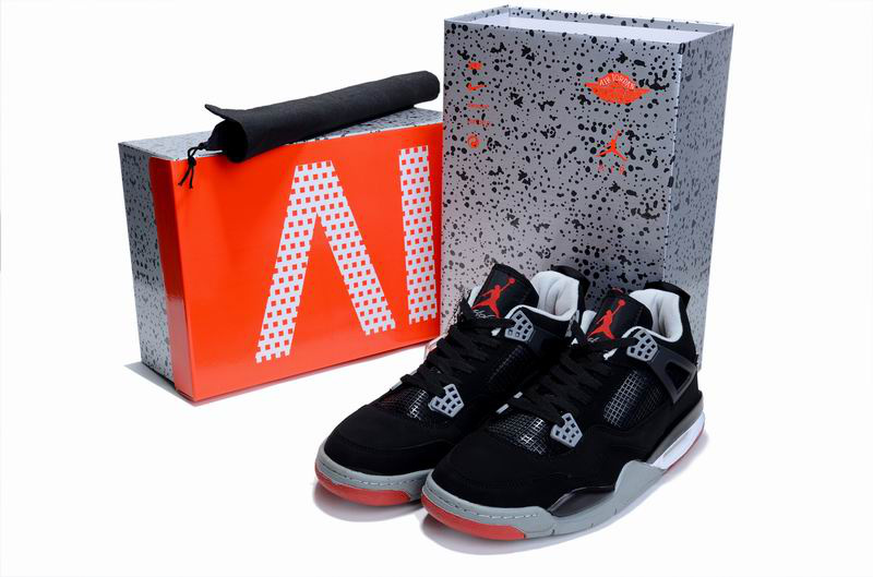 nike air flight 5eb7bfa 89 bred blackcement grey fire red f8da3606 ... 75c8d703d5