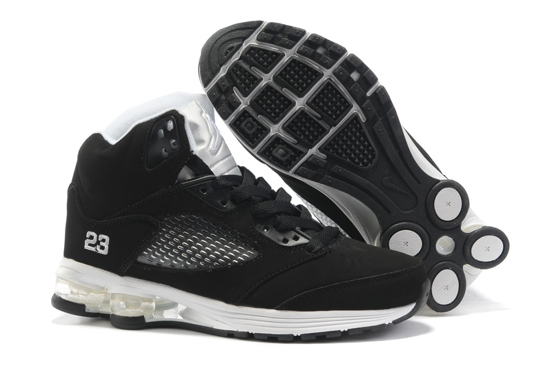 Air Jordan 5 Cushion White Black
