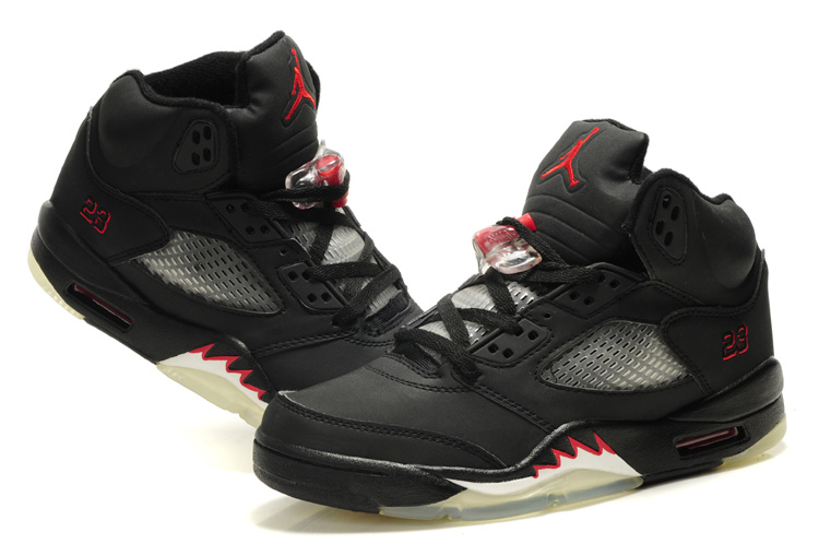 air jordan retro 5 black and red