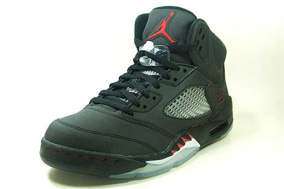 Air Jordan Shoes 5 Raging Bull Pack Varsity Black