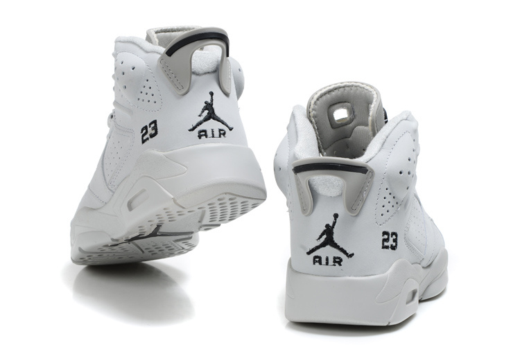 air jordan 6 all white
