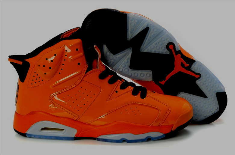 air jordan retro 6 red orange