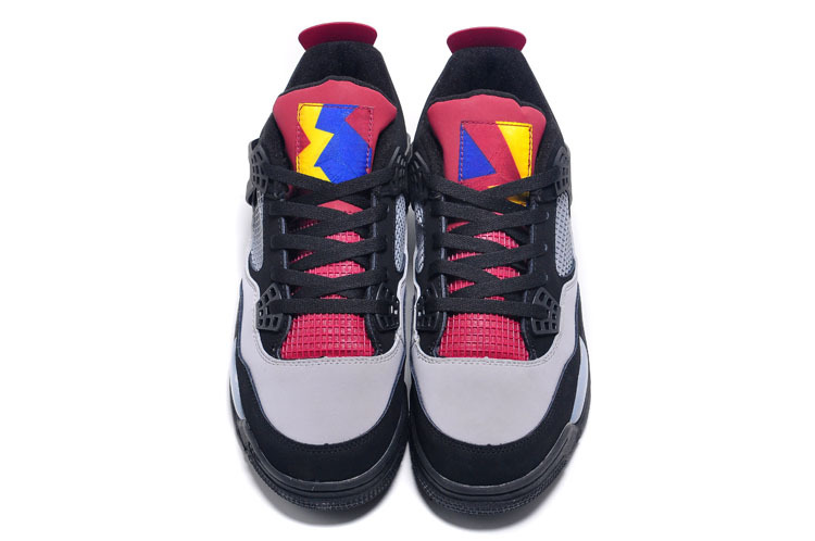 Lab4 Black Grey Pink Air Jordan 7 Lovers