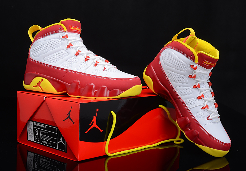 c38d460edb7 authentic air jordan 9 retro bright mango globalnykicks 7af23 71f5d; get  2012 air jordan 9 reissue white red yellow shoes d173e aeb75