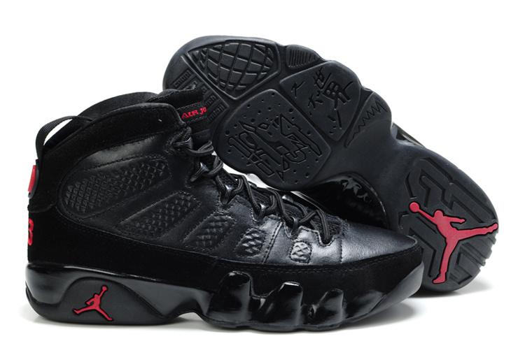 Air Jordan Retro 9 Nero Rosso E Antracite KBnT3