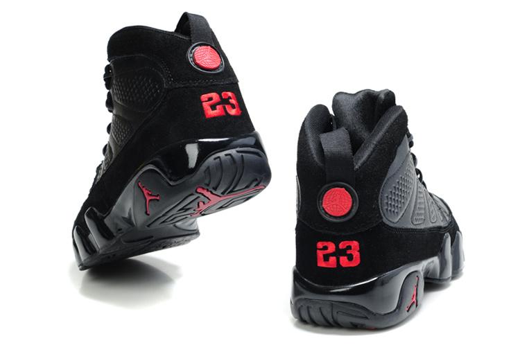 all black jordan 9