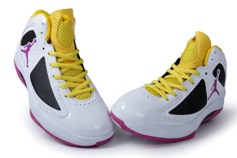 ... air jordan aero flight white black pink yellow for men; air jordan phase  ...
