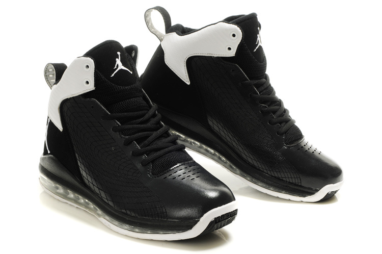 Air Jordan Fly Cushion 23 All Black White