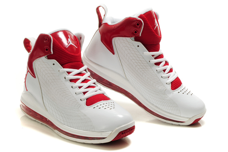 Air Jordan Fly Cushion 23 White Red
